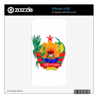 Mozambique Coat Of Arms Skins For The iPhone 4S