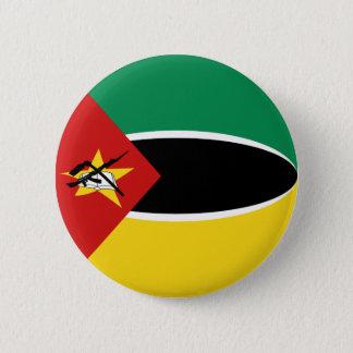 Mozambique Fisheye Flag Button