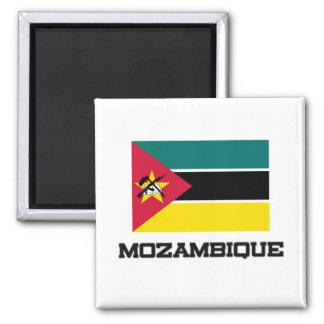 Mozambique Flag 2 Inch Square Magnet