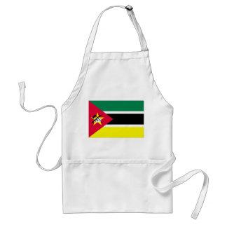 Mozambique Flag Adult Apron