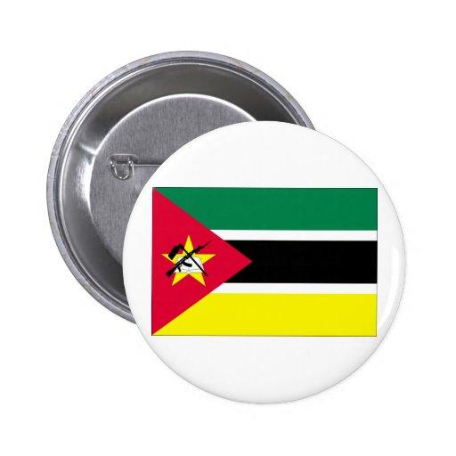 Mozambique Flag Pinback Button
