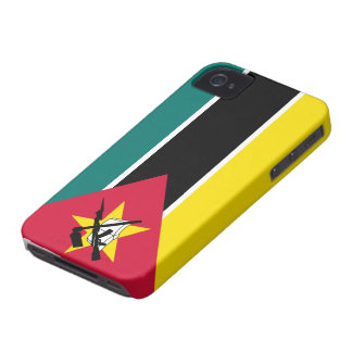 Mozambique Flag Case-Mate iPhone 4 Case