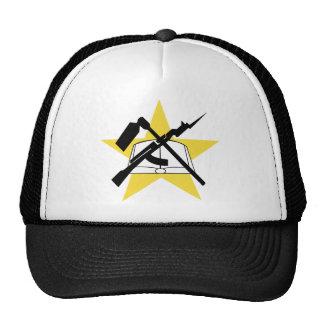 Mozambique Flag Ensignia Mesh Hats