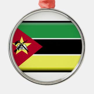 Mozambique Flag Christmas Tree Ornaments
