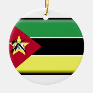 Mozambique Flag Christmas Ornament
