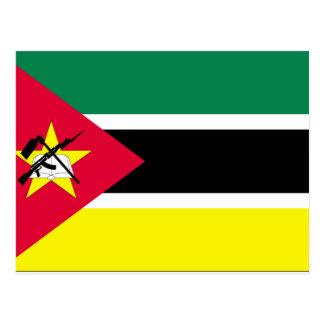 Mozambique Flag Postcard