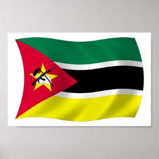 Mozambique Flag Poster Print