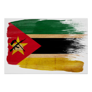 Mozambique Flag Posters