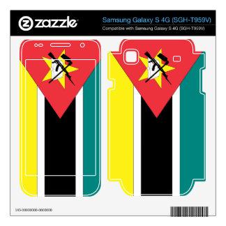 Mozambique Flag Samsung Galaxy S 4G Skin