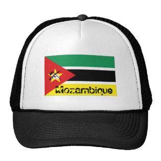 Mozambique flag souvenir hat