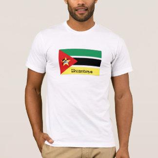 Mozambique flag souvenir tshirt