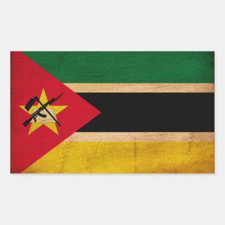 Mozambique Flag Rectangular Sticker