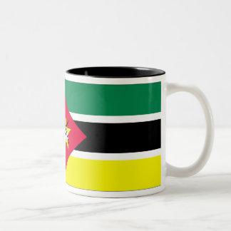 Mozambique Flag Two-Tone Coffee Mug