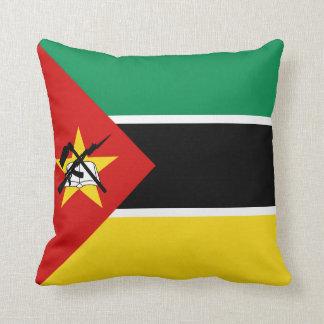 Mozambique Flag x Flag Pillow