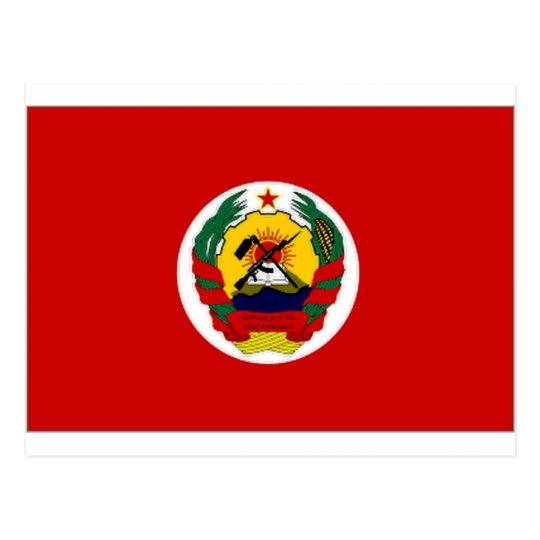 Mozambique President Flag Postcard