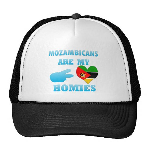 Mozambiqueños son mi Homies Gorro De Camionero