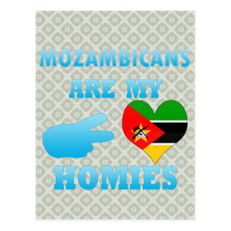 Mozambiqueños son mi Homies Tarjeta Postal