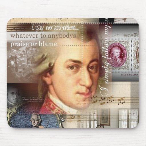 Mozart Alfombrillas De Raton