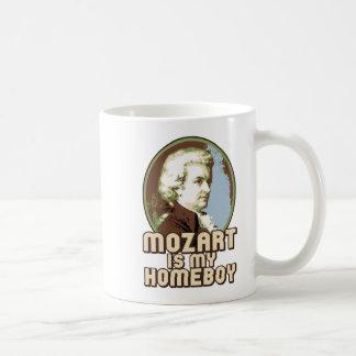 Mozart Classic White Coffee Mug