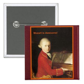 ¡Mozart es impresionante Botón Pin