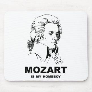 Mozart es mi Homeboy Tapetes De Ratón