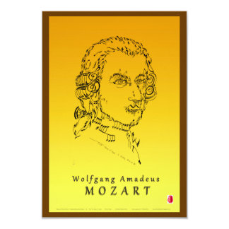 Mozart Face the Music Card