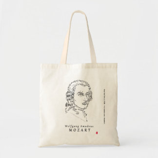 Mozart Face the Music Tote Bag