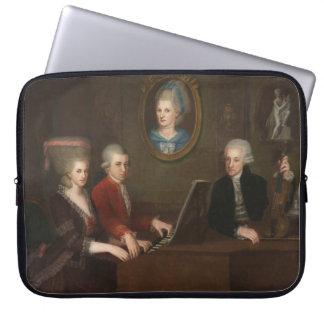 Mozart Family Portrait Computer Sleeve