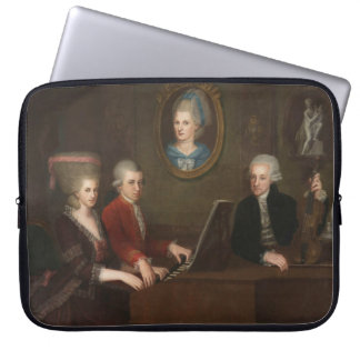 Mozart Family Portrait Computer Sleeves