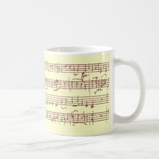 Mozart Gavotte - Mug #1