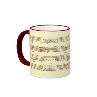 Mozart Gavotte - Mug #2
