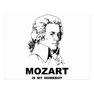 Mozart Is My Homeboy Post Cards