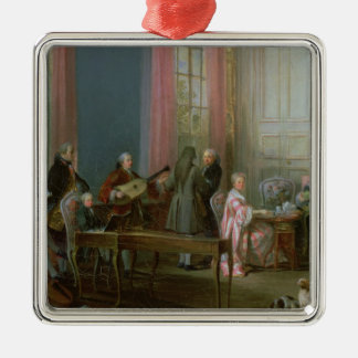 Mozart joven en el clavicordio ornamentos para reyes magos