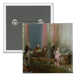 Mozart joven en el clavicordio pin