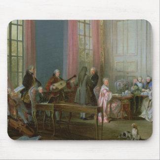 Mozart joven en el clavicordio alfombrilla de ratones