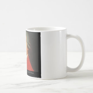 """Mozart """"Love Love Love"""" Quote Gifts & Collectibles Coffee Mug"""