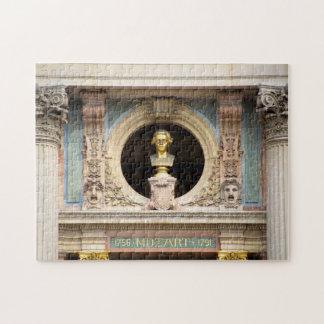 Mozart Opera Bust Puzzle