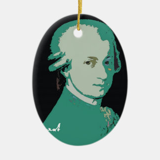 Mozart Ornament by Leslie Harlow