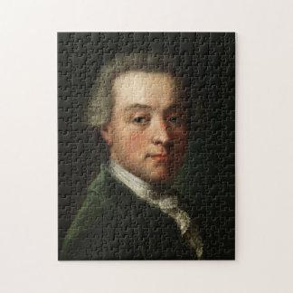 Mozart Portrait Jigsaw Puzzle