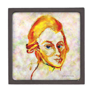 Mozart Portrait One Keepsake Box