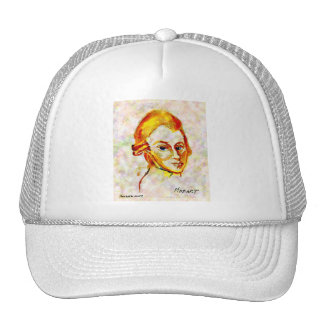 Mozart Portrait One Trucker Hat