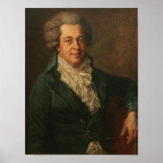 Mozart Portrait Poster