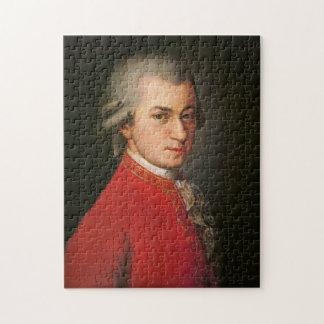 Mozart Portrait Puzzle