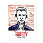 Mozart Post Cards