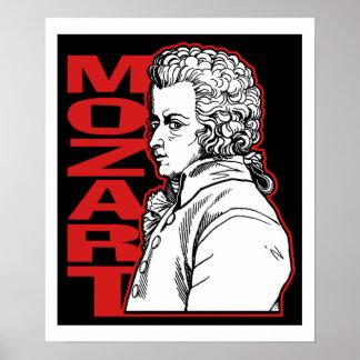 Mozart Poster
