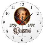 Mozart Reloj Redondo Grande