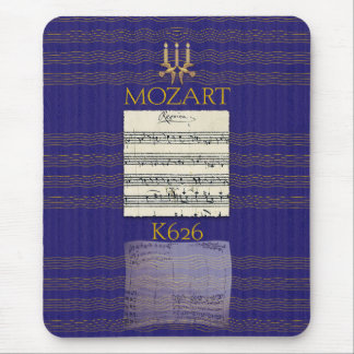 Mozart Requiem Mouse Pad