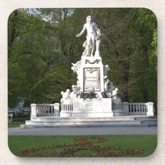 Mozart Statue Coaster