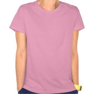 Mozart T-Shirt - Pink - Ladies - Hanes Nano