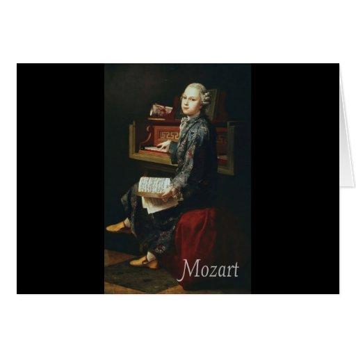 Mozart Tarjeta De Felicitación